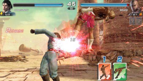 バンダイナムコ欧州支社、鉄拳シリーズのスマホ版「TEKKEN」をリリース