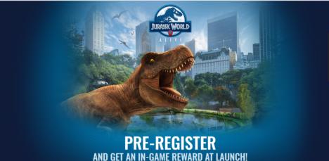 ユニバーサル、映画「ジュラシック・ワールド」のARゲーム「Jurassic World Alive」を発表