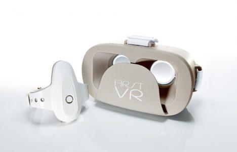 H2L、筋肉の動きを検出するコントローラー&モバイルVRゴーグル「FIRST VR」、一般販売を開始