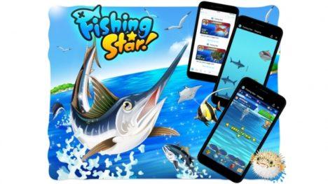 グリー、長寿ソーシャルゲーム「釣り★スタ」をFacebookメッセンジャーのインスタントゲームにて提供
