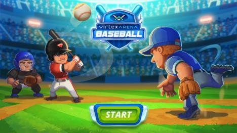試合の中断時間中にプレイできるAR野球ゲーム「Virtex Arena」がリリース