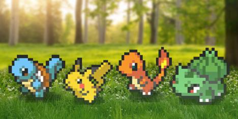 """【エイプリルフール】Pokémon GO、""""最先端""""の8bitグラフィックを導入"""