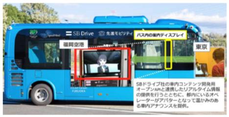遠隔地からアバターで乗客をリアルタイムサポート SpiralMind、福岡空港での自動運転バスデモンストレーションへ技術提供