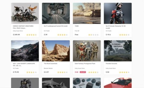 MESON、欲しい3Dモデルが必ず見つかる!VR/AR/ゲームクリエイター向けの3Dモデル検索Webサービス「heymesh」をリリース