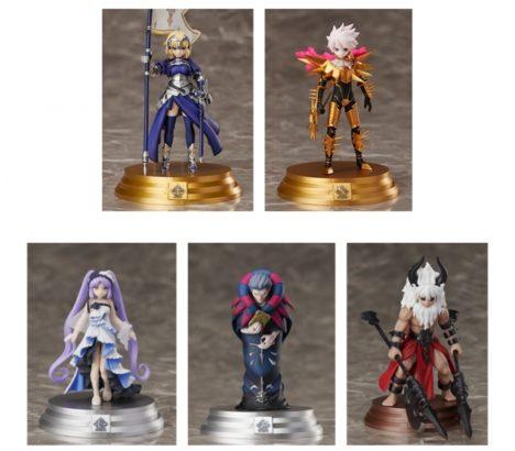 FateRPG「Fate/Grand Order」のボードゲーム「Fate/Grand Order Duel -collection figure-」のシリーズ第2弾ラインナップが公開