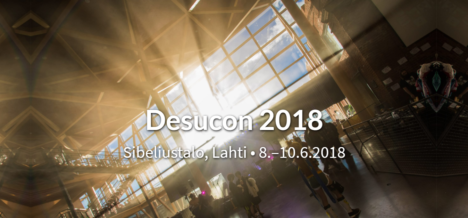 6/8-10、フィンランド・ラハティにて日本のPOPカルチャーの祭典「Desucon 2018」開催