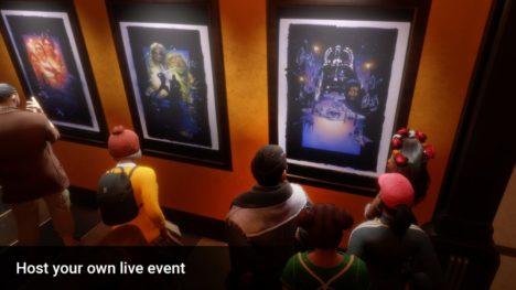 Linden Lab、ソーシャルVR「Sansar」と映画「レディ・プレイヤー1」のコラボVR空間をViveportにて配信