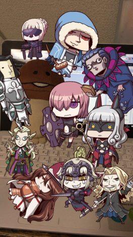 【エイプリルフール】FateRPG「Fate/Grand Order」のスマホ向けARゲーム「Fate/Grand Order Gutentag Omen Adios」がリリース