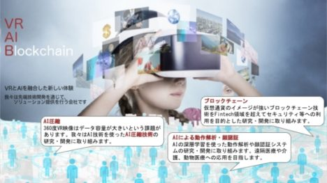 JPPVRとフォーカスシステムズ、VR・AI・ブロックチェーン技術に取り組む新会社「株式会社VRaiB」を設立