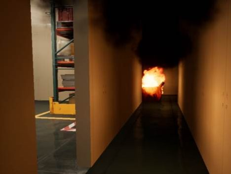 理経、一体型VR HMD「Mirage Solo」を使った火災避難コンテンツを提供開始