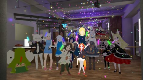 ごはんとアートVol.4 -KAWAII-, Future Kawaii Party 2018, VRChat, FabCafe
