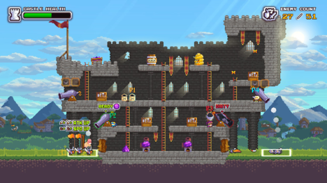 コーラス・ワールドワイド、籠城ディフェンスゲーム「ノーヒーローズ・ヒア」のPS4版をリリース