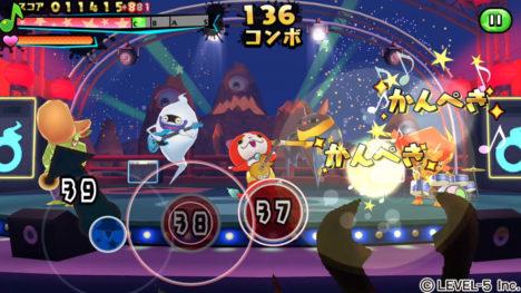 「妖怪ウォッチ」シリーズのスマホ向けリズムゲーム「妖怪ウォッチ ゲラポリズム」がリリース