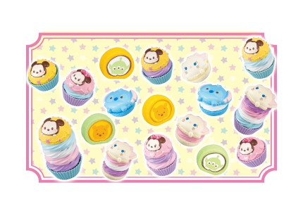 """セガトイズ、「LINE:ディズニー ツムツム」のケーキが作れる""""おままごとトイ""""を6/14に発売"""