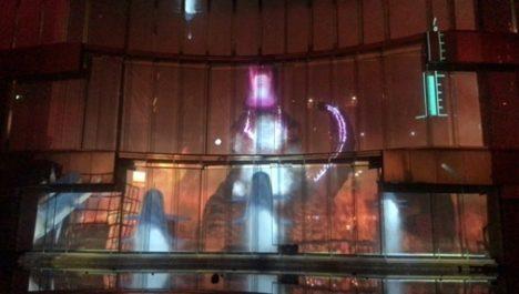 Zero-Tenとグッドラックスリー、ゴジラが福岡を破壊するプロジェクションマッピング・ゲームを展開