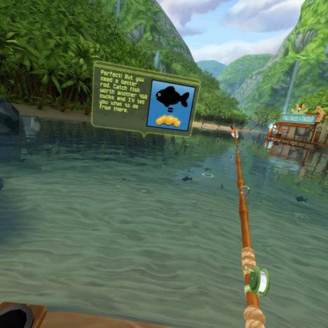 【やってみた】変な魚しかいない! 倒産寸前の水族館を救うため珍しい魚を探し求めるVR釣りゲー「Bait!」
