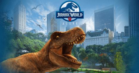 映画「ジュラシック・ワールド」シリーズのAR位置ゲー「Jurassic World Alive」が日本でも配信開始