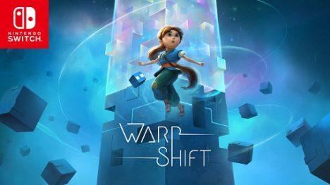 スマホ向け美麗パズルゲーム「WarpShift」のNintendo Switch版がリリース