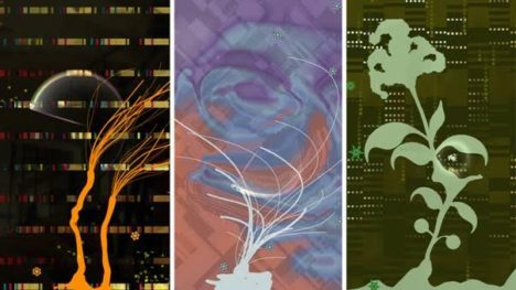 「PixelJunk」シリーズのスマホゲーム「Eden Obscura」のAndroid版が配信開始