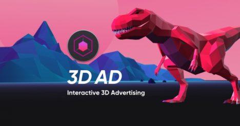 VRize、3DCGを広告配信するインタラクティブアドネットワーク「3D AD」をリリース