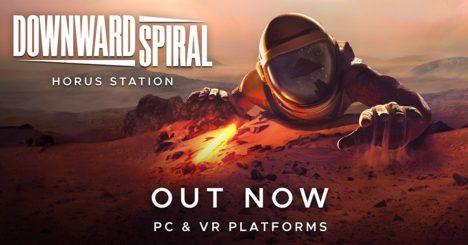 フィンランドの3rd Eye Studios、第一弾タイトルとなるVRアクションゲーム「Downward Spiral: Horus Station」をリリース
