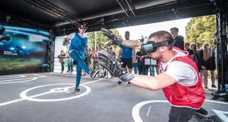 サムスン、イベントにてサッカーのPK戦をバーチャル体験できる新VRコンテンツ「Galaxy Shoot-out VR」を日本発展開