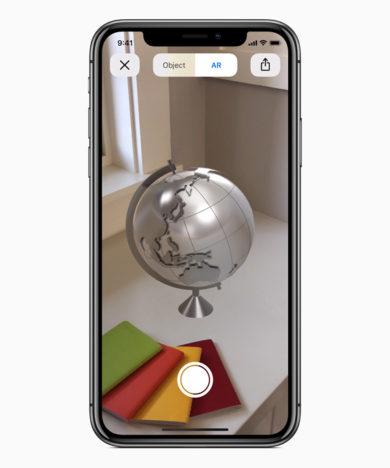 Apple、ARフレームワーク「ARkit 2」を発表 今秋リリース予定のiOS 12に搭載