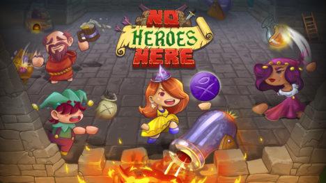 コーラス・ワールドワイド、籠城ディフェンスゲーム「ノーヒーローズ・ヒア」のSwitch版をリリース