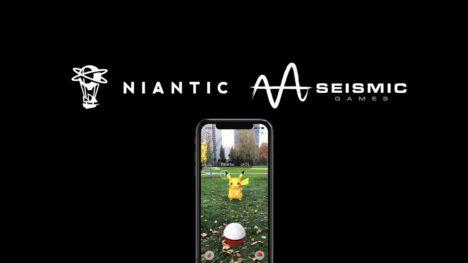 Niantic、モバイルゲームディベロッパーのSeismic Gamesを買収