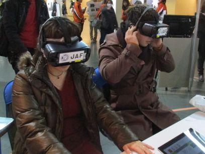 JAF宮崎、VRによる疑似衝突体験コーナーを「まつり宮崎2018」に出展