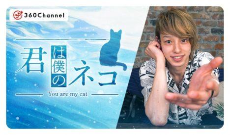 360Channel、視聴者がイケメンの飼いネコになる女性向けVRショートドラマ「君は僕のネコ」を配信開始
