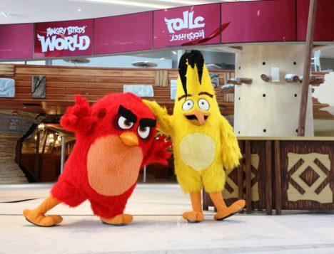 Rovio、カタールにアングリーバードの遊園地「Angry Birds World」をオープン