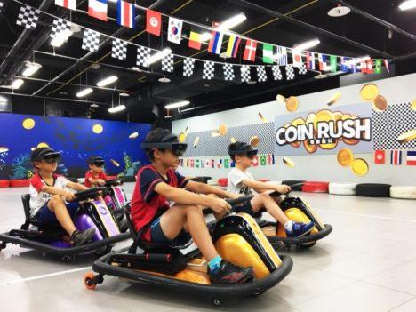 ARスポーツ「HADO」が台湾に進出 台北市内の遊園地でサービス開始