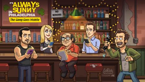 Foxのコメディドラマ「It's Always Sunny in Philadelphia」がスマホゲーム化決定