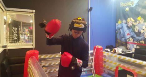 プロディジ、リリース VRボクシングカラオケ「撲カラ」をJOYSOUND品川港南口店にて展開