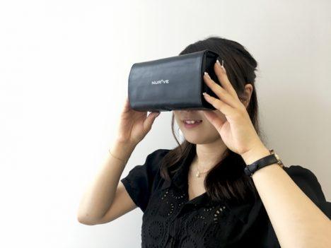 ナーブ、折り畳み式の新たな簡易VRゴーグル「モバイルクルール」を開発