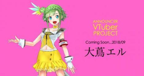 アイデアクラウド、中京テレビ放送株式会社と共同で9月よりVTuberアナウンサープロジェクトを開始