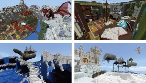 インプレス、「Minecraft」のゲーム内ストアに新参画クリエイターによるコンテンツ2作品を出品