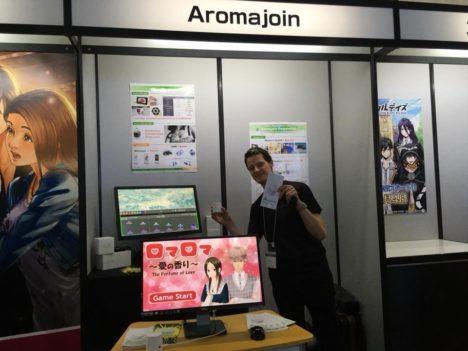 【TGS2018レポート】瞬時切り替えも可能! ゲームや映像コンテンツに「香り」を加える京都発のアロマデバイス「アロマシューター」