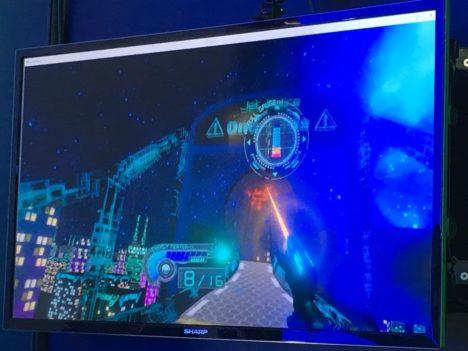 【TGS2018レポート】サイバーパンクな夜の街を駆け抜けろ! バンタンゲームアカデミーのスタイリッシュなVRアクションゲーム「Jet Police」