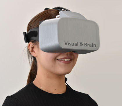 NeUとFOVE、脳活動計測を計測するVR HMDを共同開発 CEATECに出展中