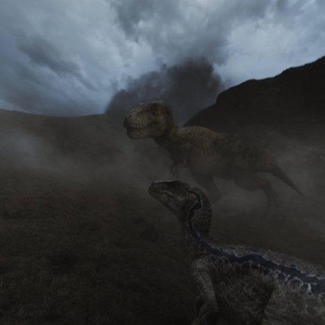 【見てみた】「ジュラシック・ワールド/炎の王国」の前日譚を描いたVRムービー「Jurassic Workd: Blue」