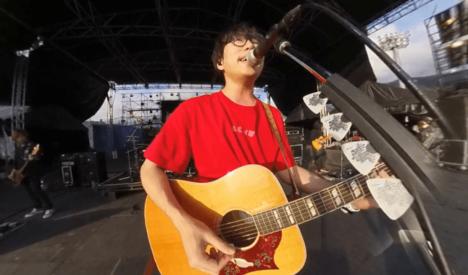 360Channel、高橋優主催の音楽フェス「秋田CARAVAN MUSIC FES」の様子をVRマルチアングルで撮影