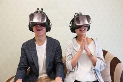 テイクアンドギヴ・ニーズとKDDI、VRで挙式が体験できる「鳥肌挙式VR」を提供開始