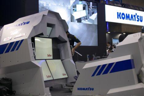 コマツとカヤック、CEATECにてVR・AR技術を生かした共同展示を実施
