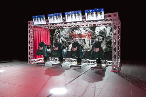 「キャプテン翼」と「進撃の巨人」のVRアトラクションのロケテストが東京と大阪で開催決定