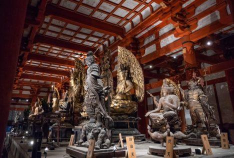東京国立博物館と凸版印刷、東寺の立体曼荼羅をVR化