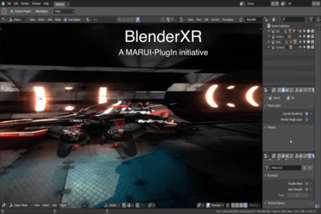 MARUI-PlugIn、VR/ARインターフェースでBlender活用の幅を広げる「BlenderXRプロジェクト」を始動