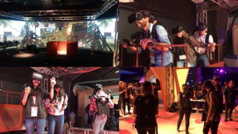 ハシラス、DOCOMO Open House 2018にマルチプレイVRアトラクション「GOLDRUSH VR」を出展