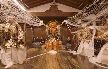 アルファコード、京都の能楽堂で公演された「土蜘蛛」を撮影したソフトバンクの5G実験用VRコンテンツを製作